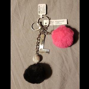 Super cute L keychain